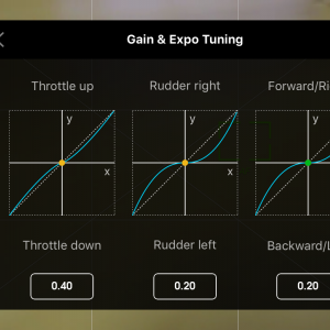 Gain & Expo Tuning