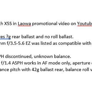 X5S-Lens-Notes