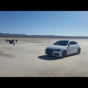 DJI Inspire 1/ AllSteady 6 Gimbal & 2015 Audi S3 - YouTube