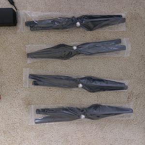 Carbon Fiber propeller blades