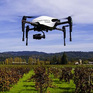 Hawk Aerial Vineyard Drone W/Canopy