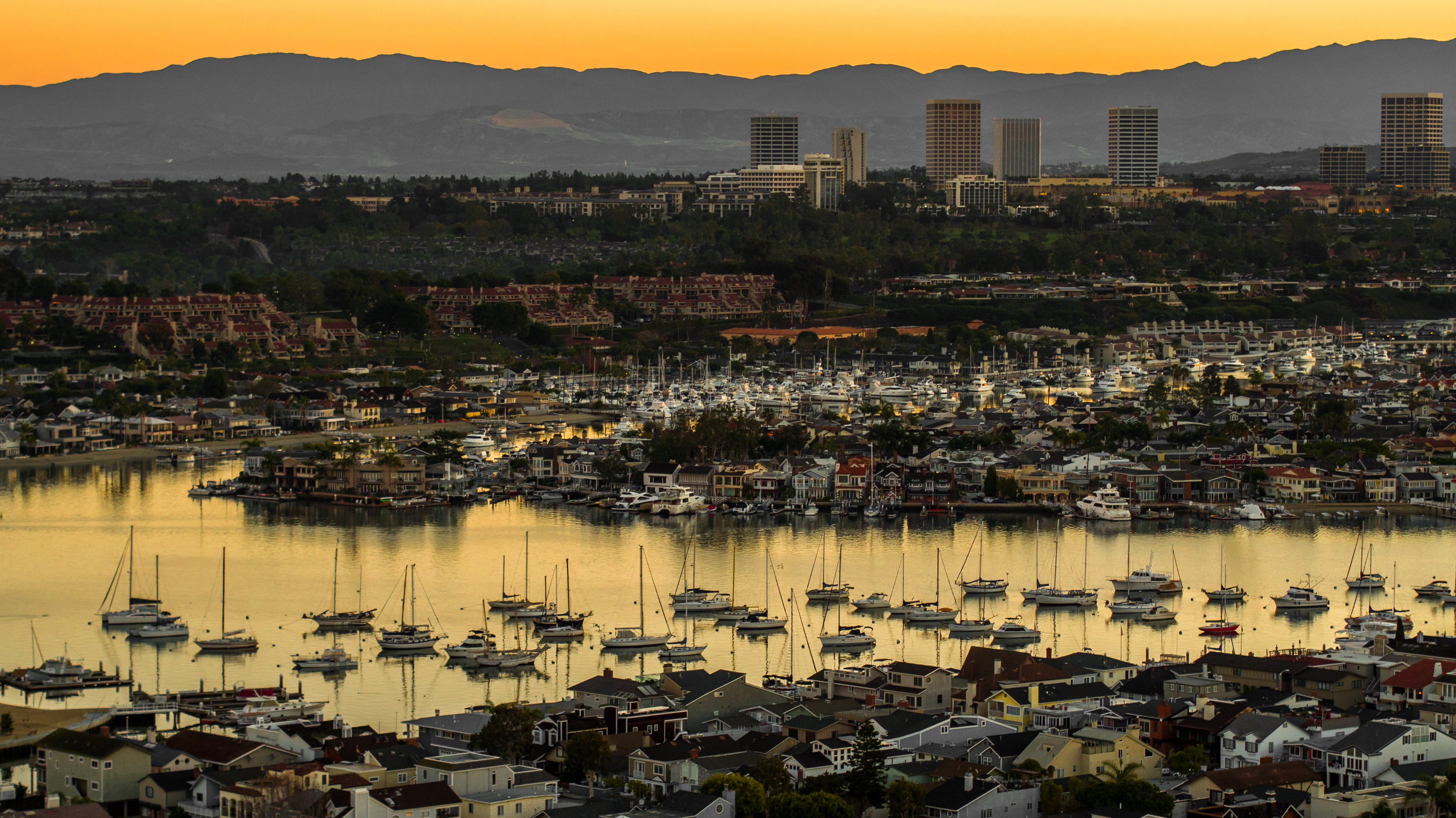 Newport Harbor Sunrise